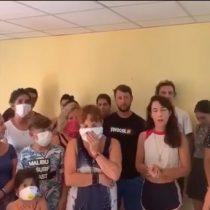 Chilenos varados en Cuba denuncian nula ayuda de la embajada y exigen que el Gobierno envíe un avión para retornar al país