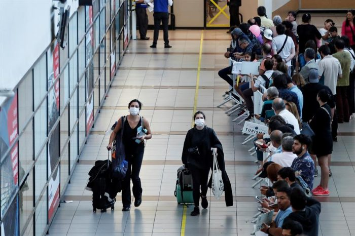 La industria aérea dice que Chile sigue