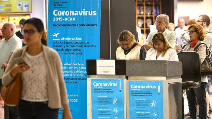 Autoridades confirman el primer caso de coronavirus en Argentina