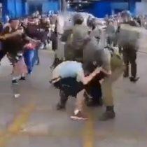 Denuncian a Carabineros de gasear y detener a personas que participaban de manifestación pacífica en Concepción