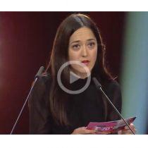 En la clausura de la Berlinale cineasta Dominga Sotomayor denuncia la crisis social en Chile en TV abierta para toda Alemania