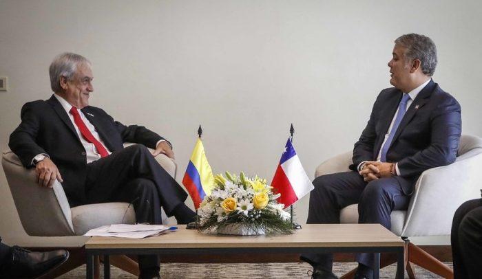 Piñera y Duque defienden un nuevo impulso de la Alianza del Pacífico y Prosur