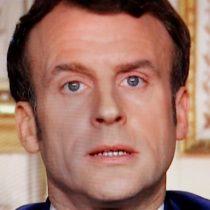 Emmanuel Macron y pandemia del coronavirus:
