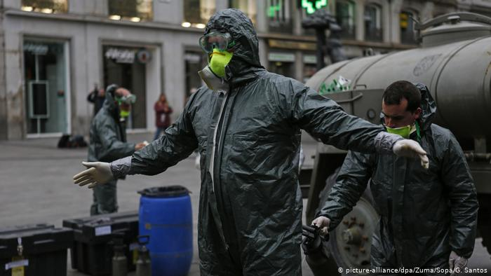 España supera los 1.300 fallecidos por coronavirus