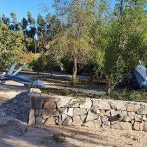 Un fallecido deja accidente aéreo: helicóptero civil capotó en el antejardín de una vivienda de Chicureo