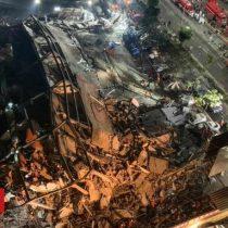 China: se derrumba hotel que albergaba a personas en cuarentena por coronavirus y 70 personas quedan bajo los escombros