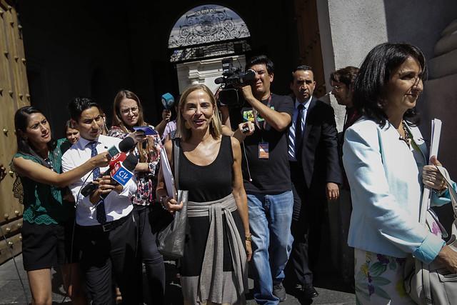 """""""¿Me ven renunciada?"""": ministra Plá descarta salida del gabinete"""