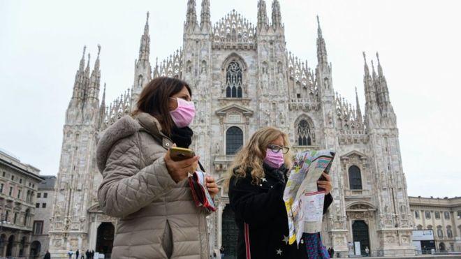 Italia registra solo 7 muertos con coronavirus y reduce los nuevos contagios