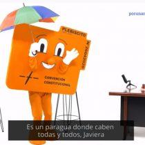 Javiera Contador protagoniza nuevo viral a favor del Apruebo y Convención Constitucional