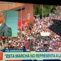 """""""Esta marcha no representa a las mujeres"""": el polémico comentario de María Pía Adriasola a propósito del 8M"""
