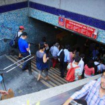 [ACTUALIZADA] Protestas de secundarios han afectado el servicio en más de 20 estaciones de Metro este viernes