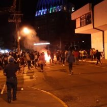 Celebración de la Noche Valdiviana terminó con disturbios y diez personas detenidas