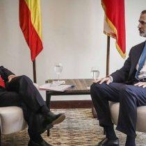 Reunión entre Piñera y el rey Felipe VI: España ofrece a Chile su apoyo para lograr acuerdos ante protestas sociales