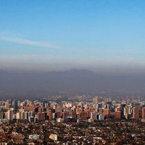 Al menos una buena noticia: mejoran condiciones del aire en Santiago tras cuarentena en 7 comunas
