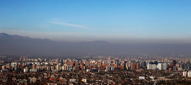 Intendencia decretó alerta ambiental para la Región Metropolitana este sábado