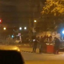 Grupo de personas realizó masivo saqueo a supermercado en La Granja