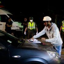 Balance de Carabineros: 331 personas detenidas en la quinta noche de toque de queda
