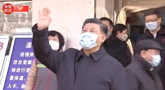 Presidente chino visita Wuhan y promete una