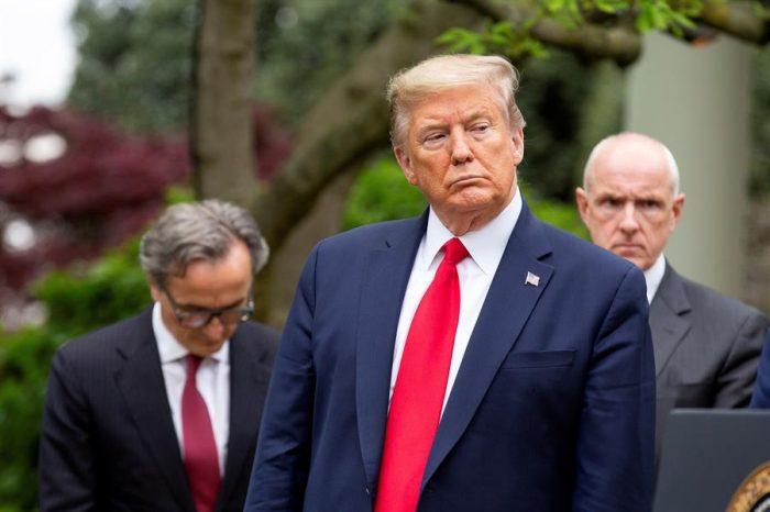 Cumplió su amenaza: Trump cortó el financiamiento de Estados Unidos a la OMS