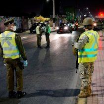 Carabineros informa que 353 personas infringieron el toque de queda la última noche
