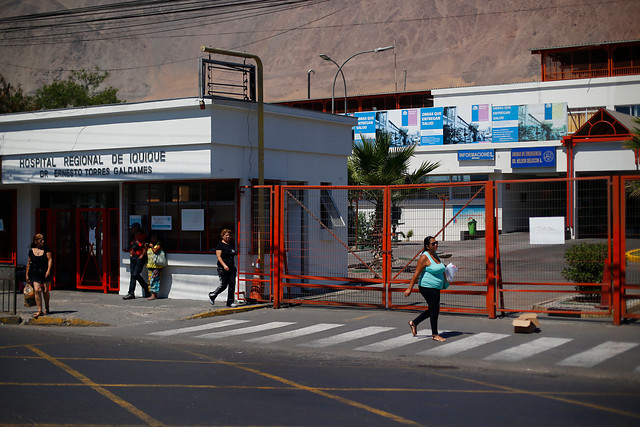 Ciudadano español sospechoso de portar COVID-19 se fugó del Hospital Regional de Iquique