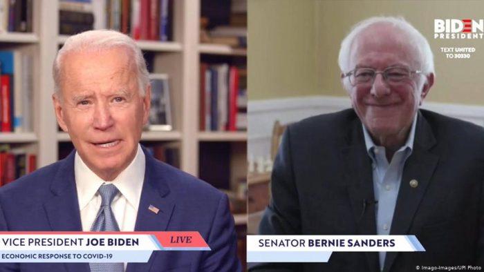 Sanders entrega su apoyo a Joe Biden para las presidenciales estadounidenses
