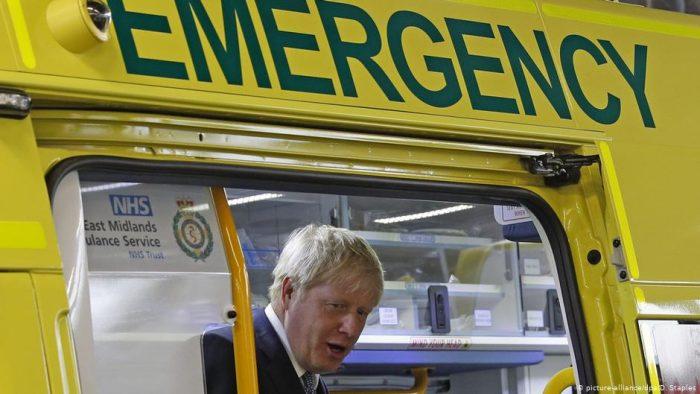 Boris Johnson ingresado en cuidados intensivos por coronavirus