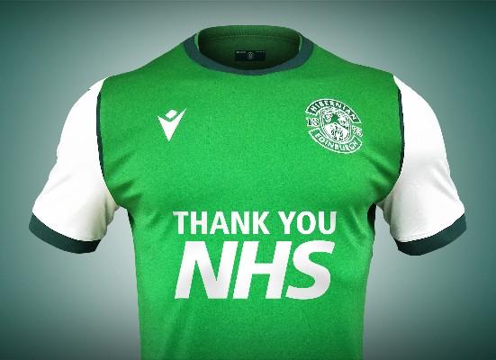El Hibernian escocés llevará escrito en su camiseta