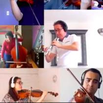 Bach a distancia: académicos y estudiantes se unen para interpretar al compositor de forma online