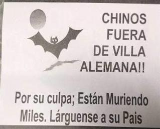 Villa Alemana: Fiscalía investiga aparición de carteles xenófobos contra la comunidad china