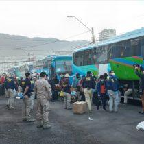 Canciller informó que 450 bolivianos varados en Chile pudieron regresar a su país