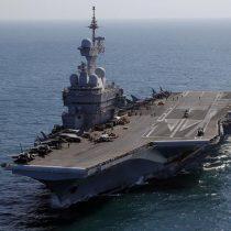 Francia: Más de mil marinos dan positivo por COVID-19 en portaaviones