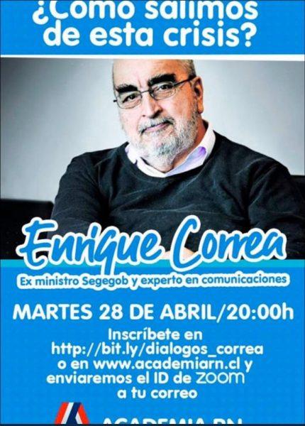 La invitación RN a Enrique Correa