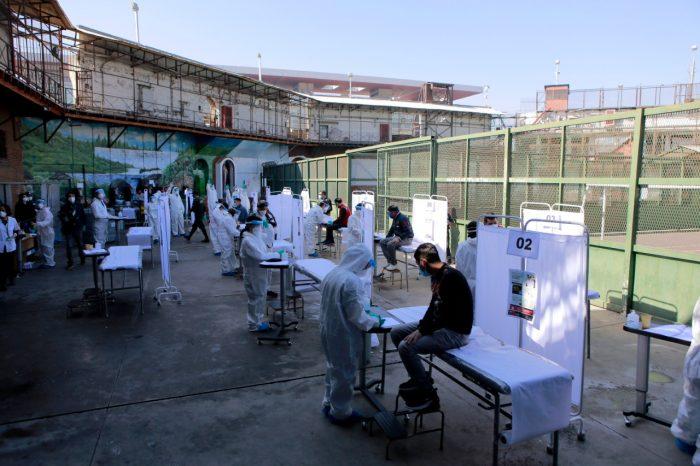"""En pleno """"Óvalo"""" de la Ex Penitenciaría realizaron operativo para detectar Covid-19"""