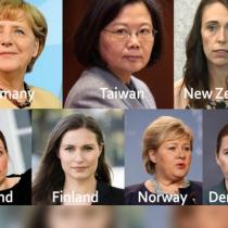 ¿Qué tienen en común los países con las mejores respuestas frente al covid-19? Mujeres liderando