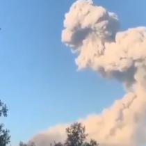 Se registra nuevo pulso eruptivo en el Volcán Nevados de Chillán