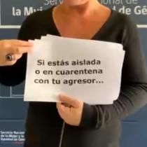 Ministerio de la Mujer y SernamEG comparten un silencioso video de auxilio