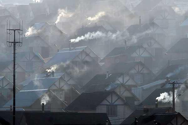 Científicos chilenos advierten que malas condiciones atmosféricas en invierno podrían favorecer la propagación del SARS-CoV-2