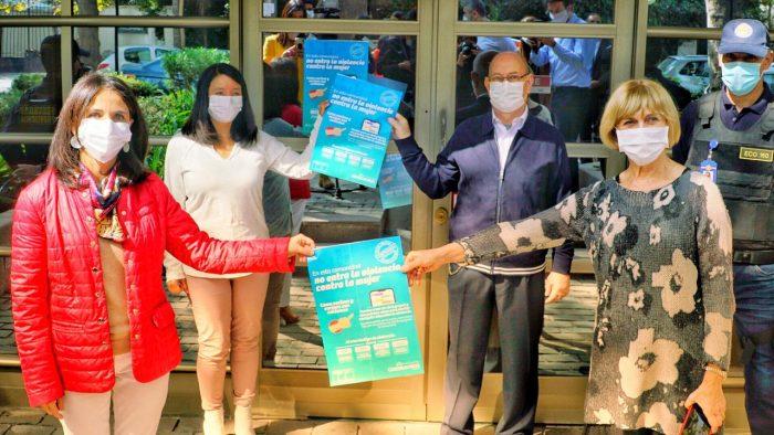 """""""En esta comunidad no entra la violencia contra la mujer"""": lanzan campaña de prevención en medio de la pandemia"""