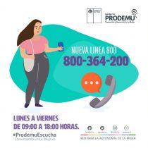 Prodemu lanza línea telefónica gratuita para acompañar a las mujeres