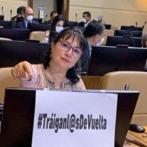 Diputada Marzán pide que se disponga de un vuelo humanitario para repatriar a chilenos en el extranjero