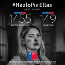 """""""Hazlo por ellas"""": la nueva campaña del Ministerio de la Mujer para denunciar la violencia intrafamiliar"""