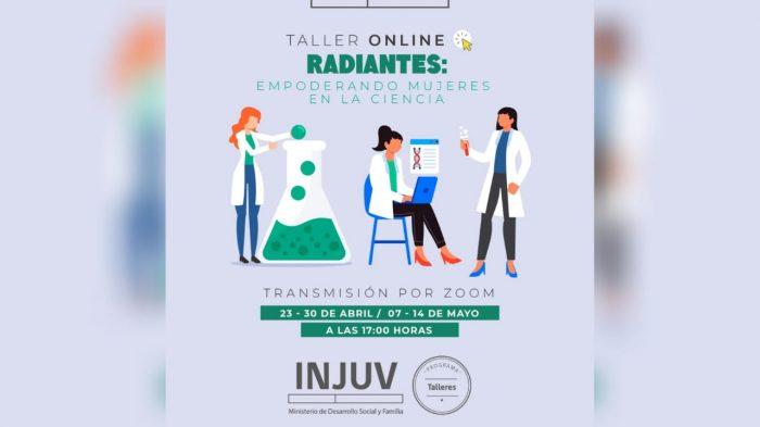 Estudiante de la Universidad de Chile imparte taller en línea gratuito sobre el rol de las mujeres en la ciencia