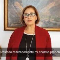 """""""Nadie se salva solo"""": presidenta del Senado pide proyecto de ley para trabajadores independientes y a honorarios"""