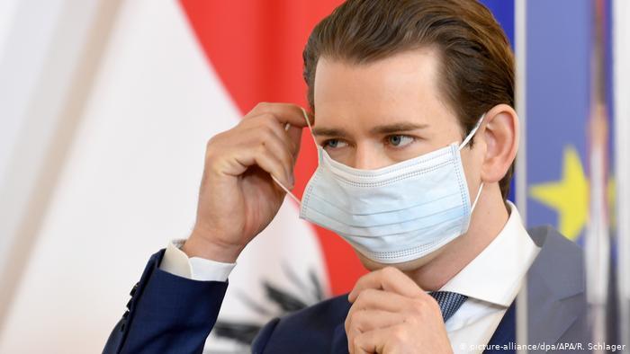 Ministros austriacos donarán un mes de salario para combatir el coronavirus