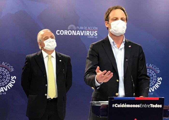 Minsal entrega reporte de la situación del Covid-19 en Chile: hay 464 nuevos casos y 13 fallecidos, la cifra diaria más alta