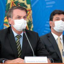 La aprobación de ministro de Salud de Brasil ya dobla la del presidente Jair Bolsonaro