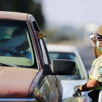 Carabineros reporta que más de 8.000 automóviles salieron de Santiago este fin de semana