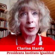 """Clarisa Hardy a Piñera: """"¿No le parece que es su responsabilidad garantizar un plebiscito seguro?"""""""