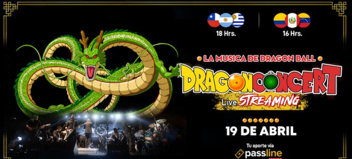 Dragon ConcertLive vía streaming